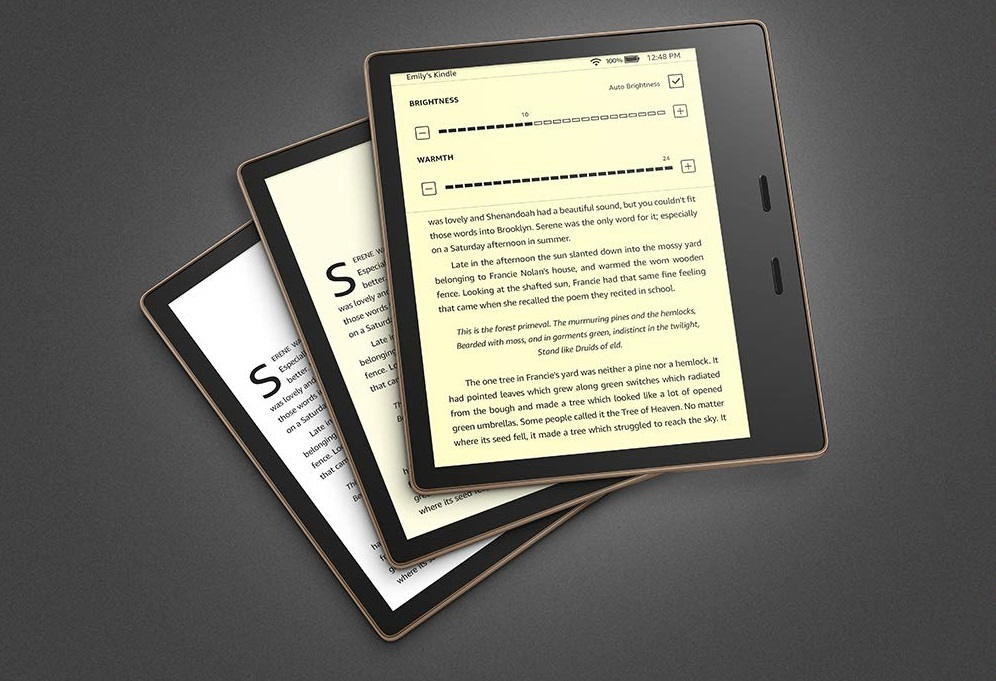 Amazon Kindle Oasis: обновленная электронная книга стала легче и быстрее предшественниц | Канобу - Изображение 1