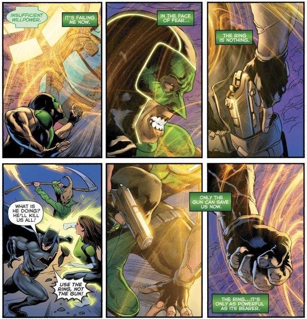 Зеленому фонарю больше не нужен пистолет, и все благодаря Бэтмену | Канобу - Изображение 11531