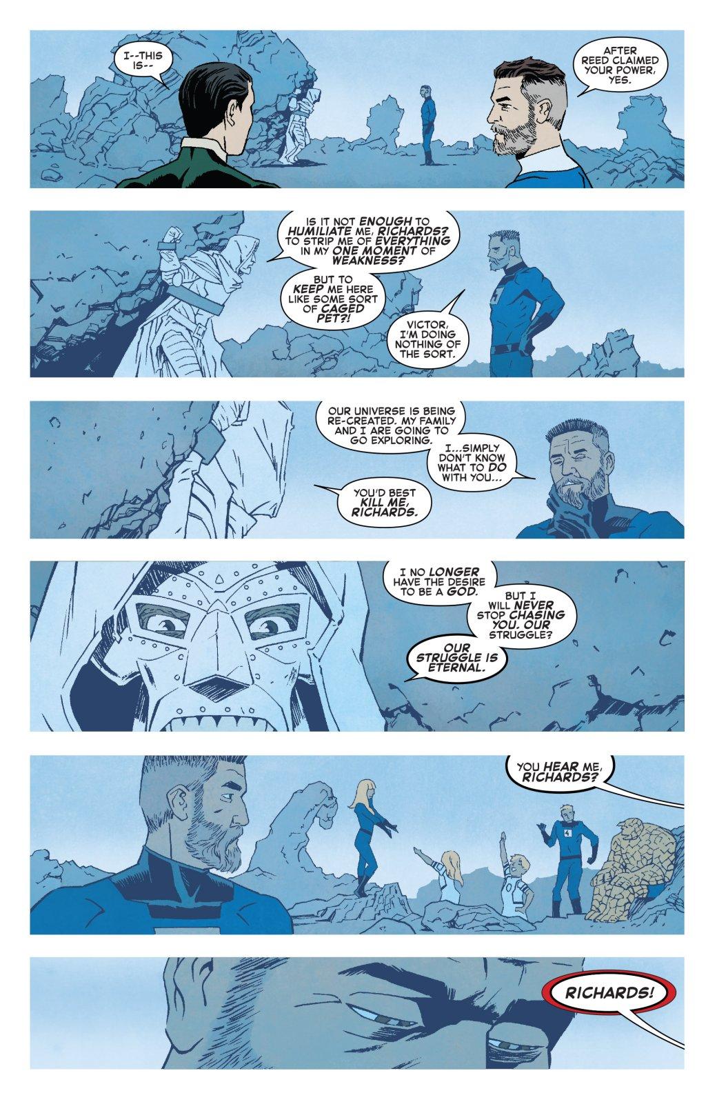 Теперь официально: почему насамом деле Доктор Дум стал супергероем?. - Изображение 1