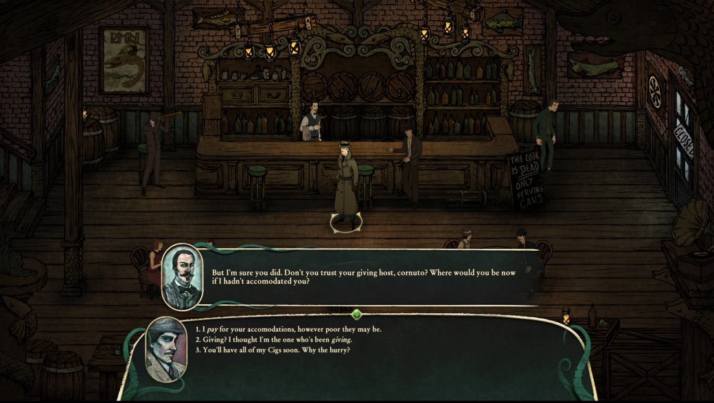 Gamescom 2018. Stygian: Reign ofthe Old Ones— ужасы итворчество Лавкрафта | Канобу - Изображение 7553