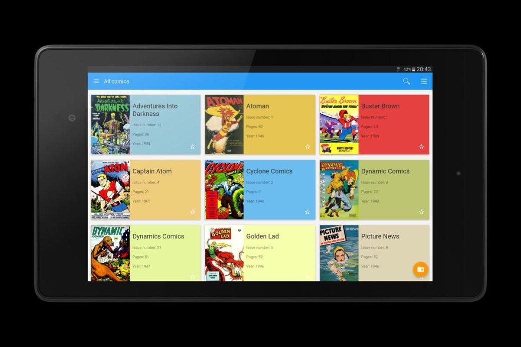 Лучшие программы для чтения комиксов - топ-15 приложений-читалок и сервисов на ПК, Android, iOS | Канобу - Изображение 10019