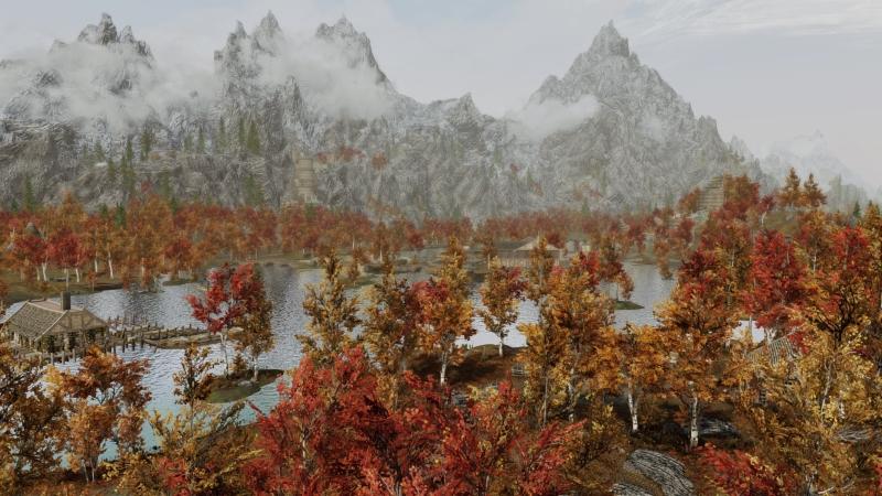 Моддер улучшил ландшафт Skyrim, добавив нанего тысячи объектов. Выглядит потрясающе | Канобу - Изображение 2275