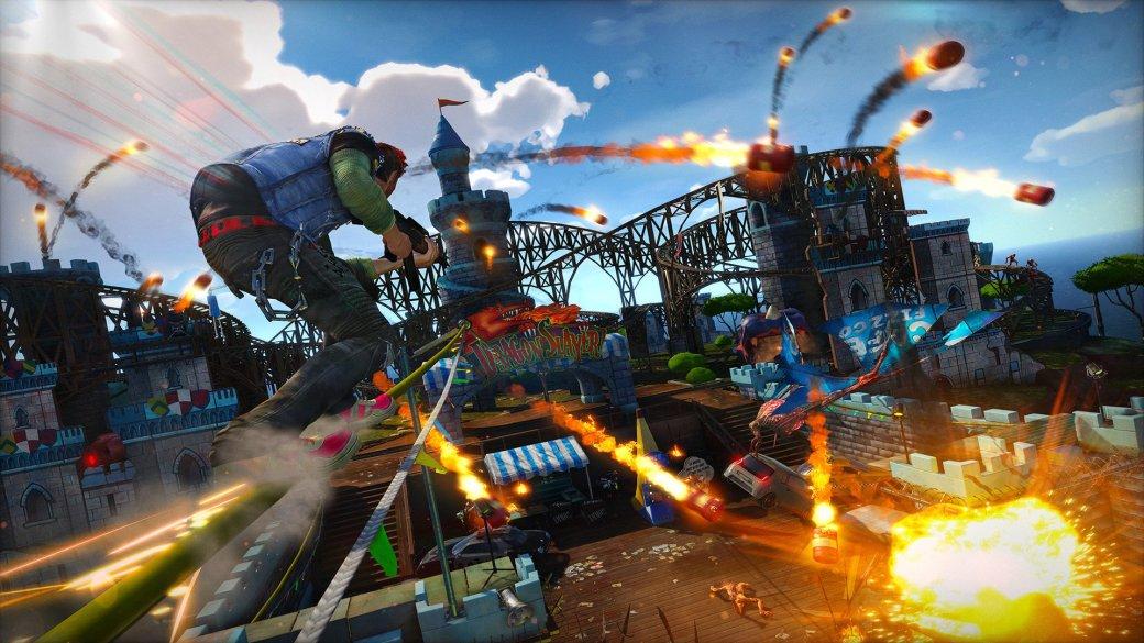 Обзор Sunset Overdrive - рецензия на игру Sunset Overdrive | Рецензии | Канобу