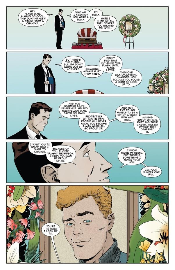 Изшкольного задиры всупергерои. Как менялся образ Флэша Томпсона вкомиксах? | Канобу - Изображение 13