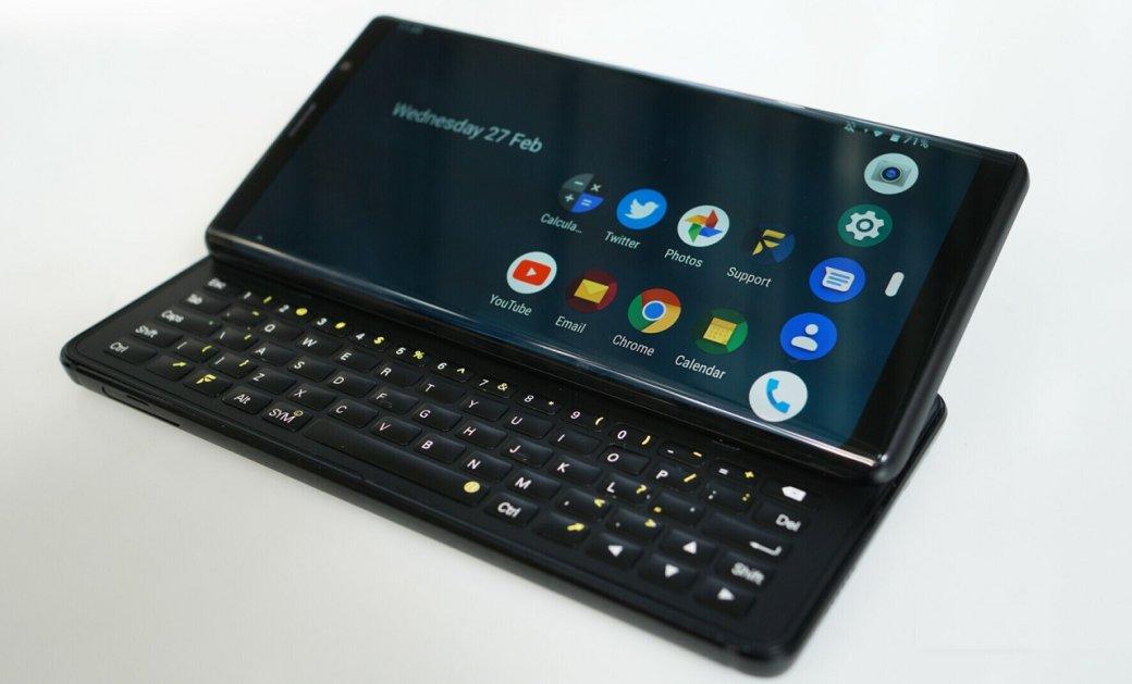 Анонс F(x)tech Pro1: смартфон-слайдер сбоковой QWERTY-клавиатурой | Канобу - Изображение 2799