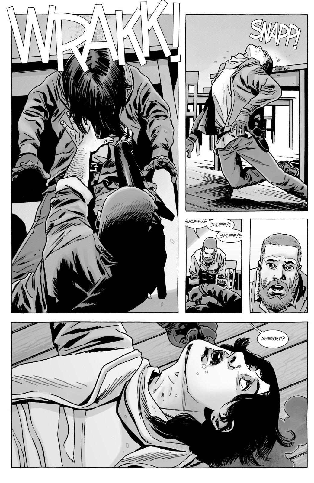Кто погиб в новом номере комикса «Ходячие мертвецов»?   Канобу - Изображение 10770