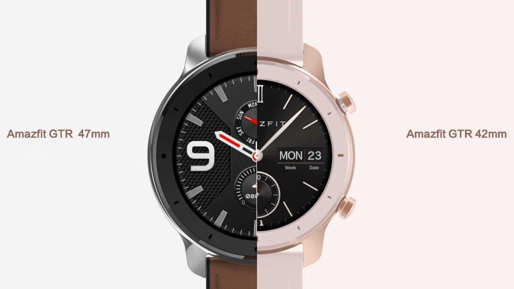 Представлены Huami Amazfit GTR: новые бюджетные смарт-часы отпроизводителя фитнес-трекеров Xiaomi | Канобу - Изображение 567