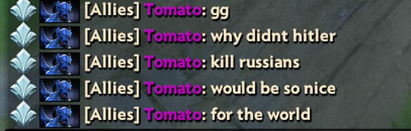 MinD_ContRoL в общем чате Dota 2 спросил, почему Гитлер не убил русских [обновлено]. - Изображение 2
