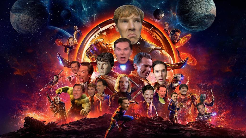 Как в Сети издеваются над официальным постером «Войны Бесконечности». - Изображение 4