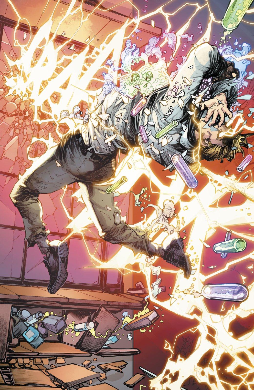 Какая неожиданная встреча произошла сФлэшем впервом выпуске Flash: YearOne? | Канобу - Изображение 4