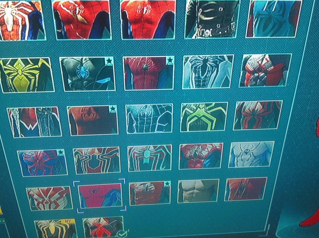 ВСети появился полный список костюмов изигры Spider-Man отInsomniac. - Изображение 2