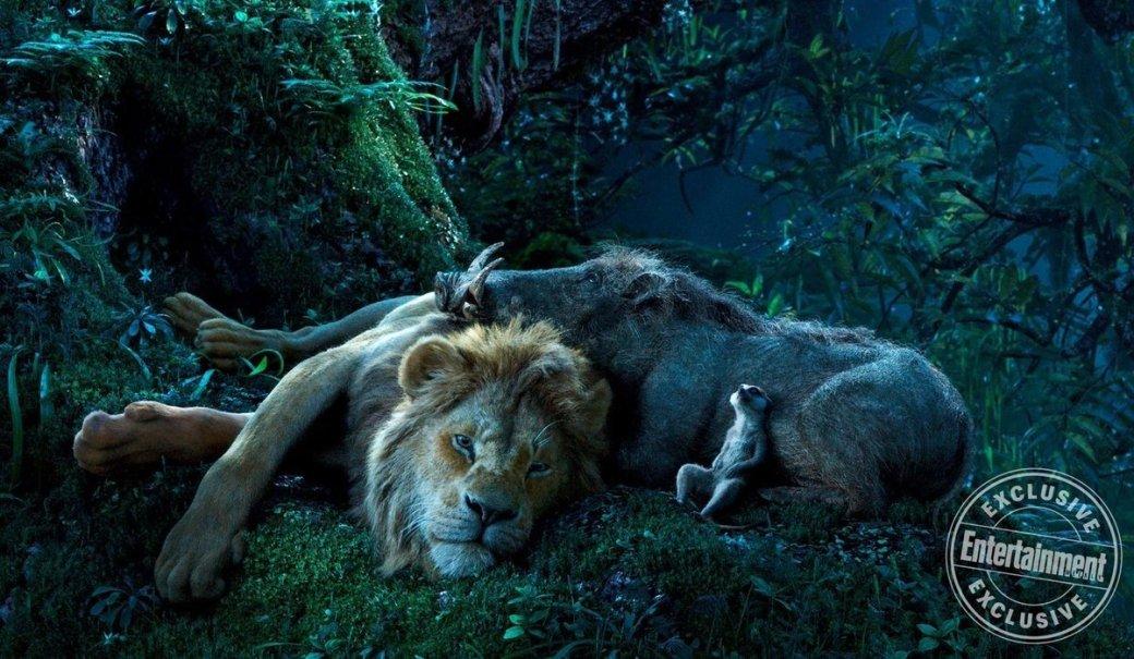 Очень графонистые животные нановых кадрах фильма «Король Лев»   Канобу - Изображение 178
