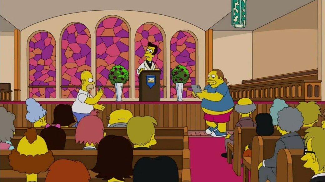 Гомер ловит покемонов прямо вцеркви вновом эпизоде «Симпсонов» | Канобу - Изображение 0