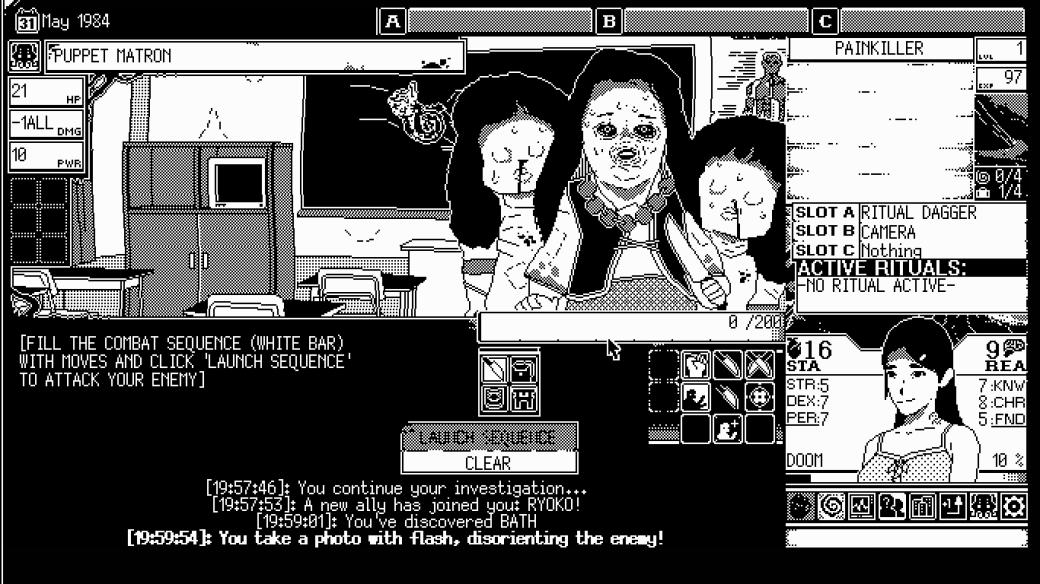 Обзор World ofHorror (2020) из Steam, рецензия, мнение, отсылки к Дзюндзи Ито и Лавкрафту   Канобу - Изображение 8083