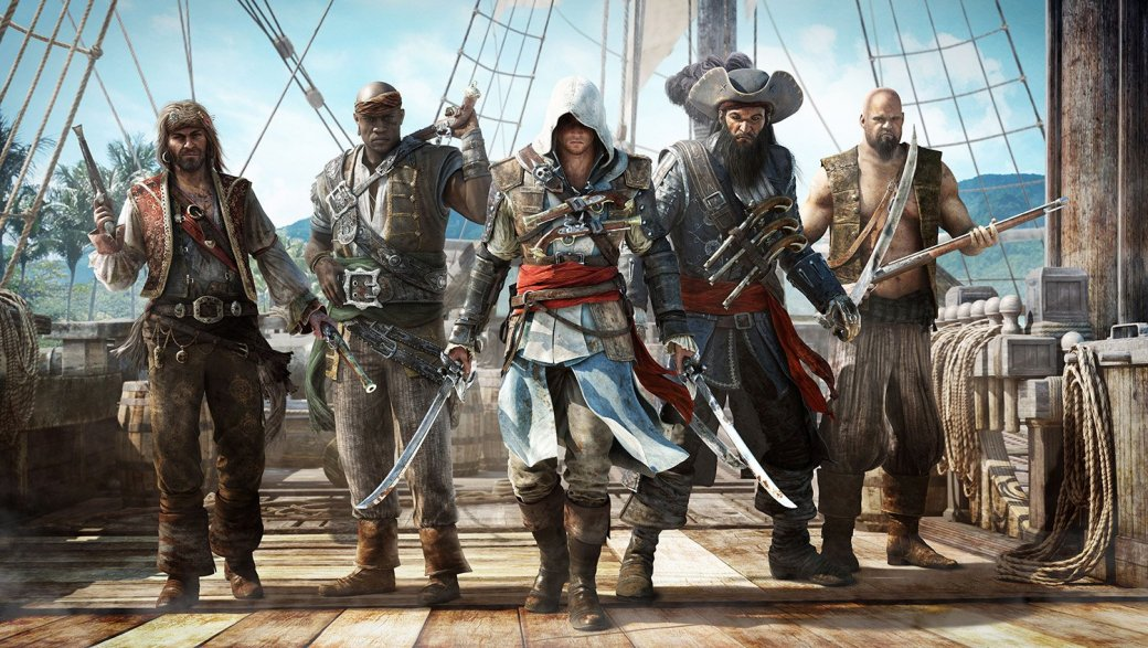 10 лучших игр про пиратов и морские приключения