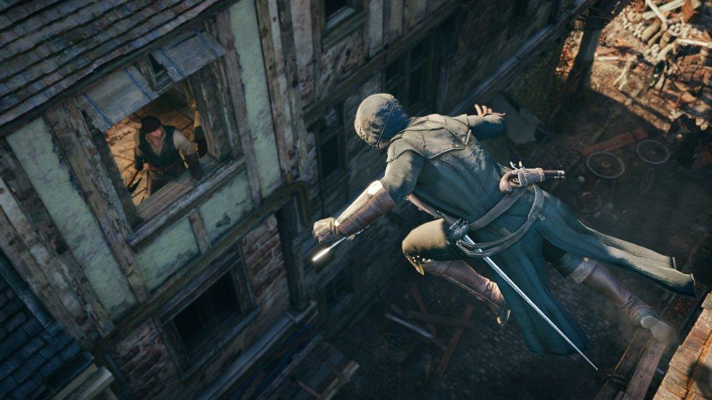 Гифка дня: отрицание гравитации вAssassin's Creed Unity | Канобу - Изображение 5643