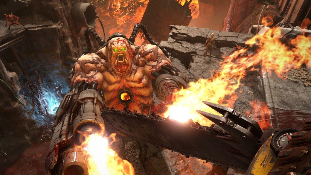Мнение опервом геймплее DOOM: Eternal— idSoftware делает лучший мясной шутер поколения. - Изображение 1