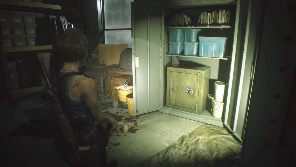 Гайд. Решение всех головоломок вResident Evil 3 Remake и коды к сейфам в Resident Evil 3 | Канобу - Изображение 5039
