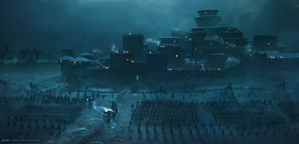 Художник выложил концепт-арты к8 сезону «Игры престолов». Иххоть сейчас ставь нарабочий стол | Канобу - Изображение 676