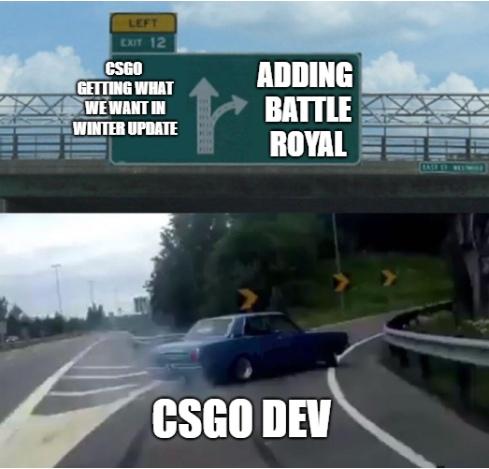 Battle Royale в CS:GO только появился, а интернет уже полнится мемами. Мы собрали лучшие | Канобу - Изображение 4
