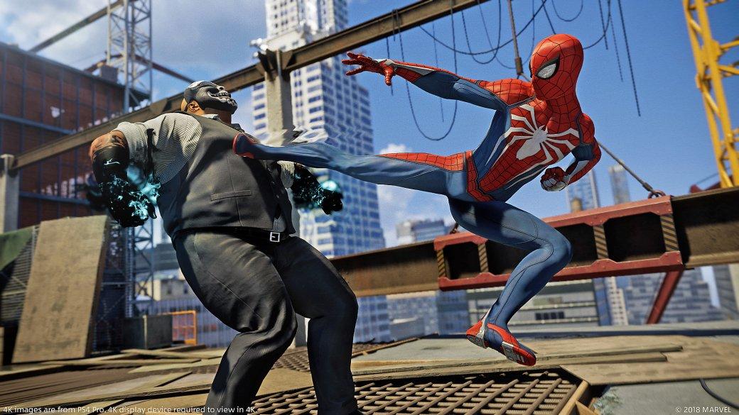 Увы, Spider-Man для PS4 неполучит демоверсию и60 кадров всекунду наPro-консоли. - Изображение 1