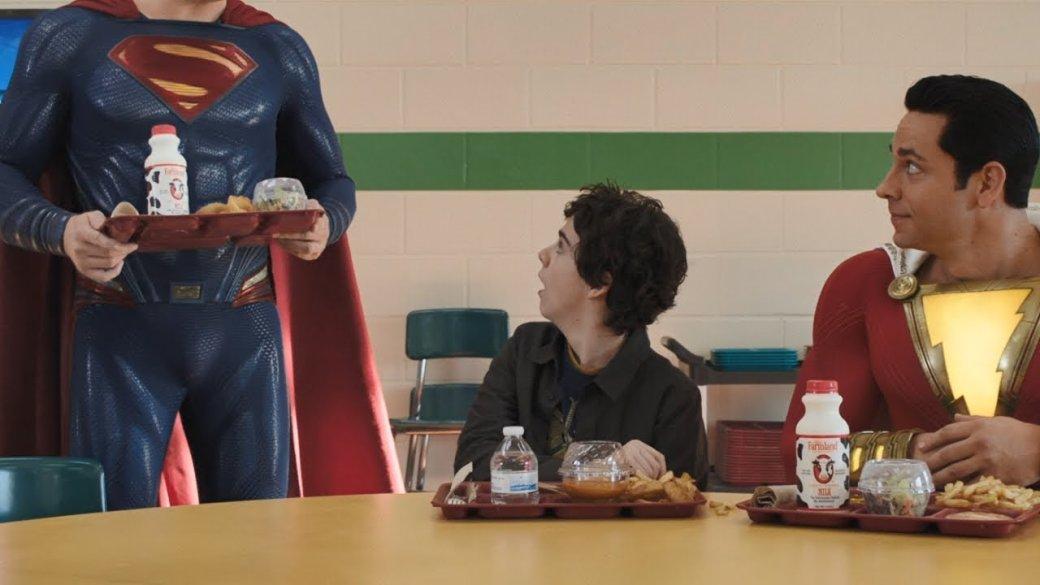 Настоящее (довольно неожиданное!) лицо Супермена из«Шазама» раскрыто | Канобу - Изображение 1
