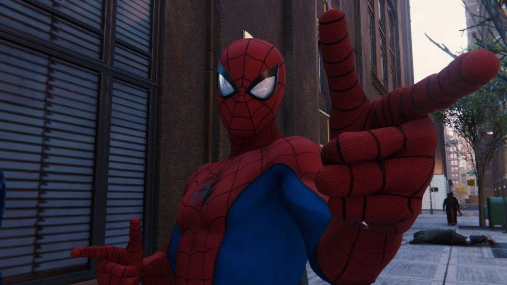 Гифка: это Человек-паук, Соник или космонавт вSpider-Man для PS4? | Канобу - Изображение 1