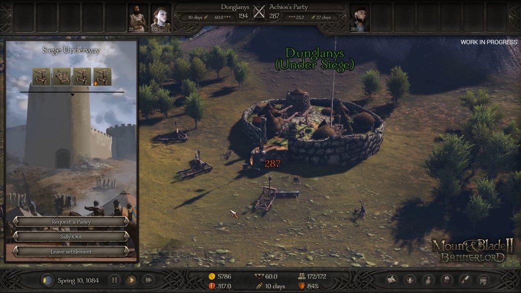 Gamescom 2019. Превью Mount & Blade 2: Bannerlord2020 — сеттинг, осады крепостей инеобратимая смер | Канобу - Изображение 2