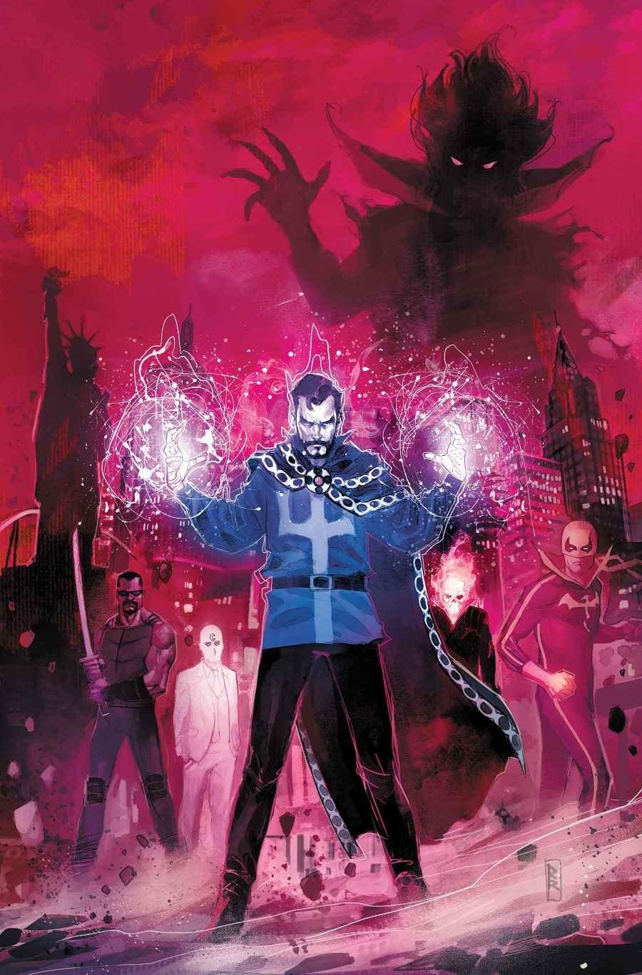 Доктор Стрэндж разберется споследствиями Secret Empire, попытавшись отвоевать Лас-Вегас | Канобу - Изображение 1