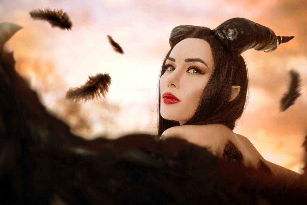 Очаровательная Малефисента в потрясающем косплее от Марины Ханны | Канобу - Изображение 4698