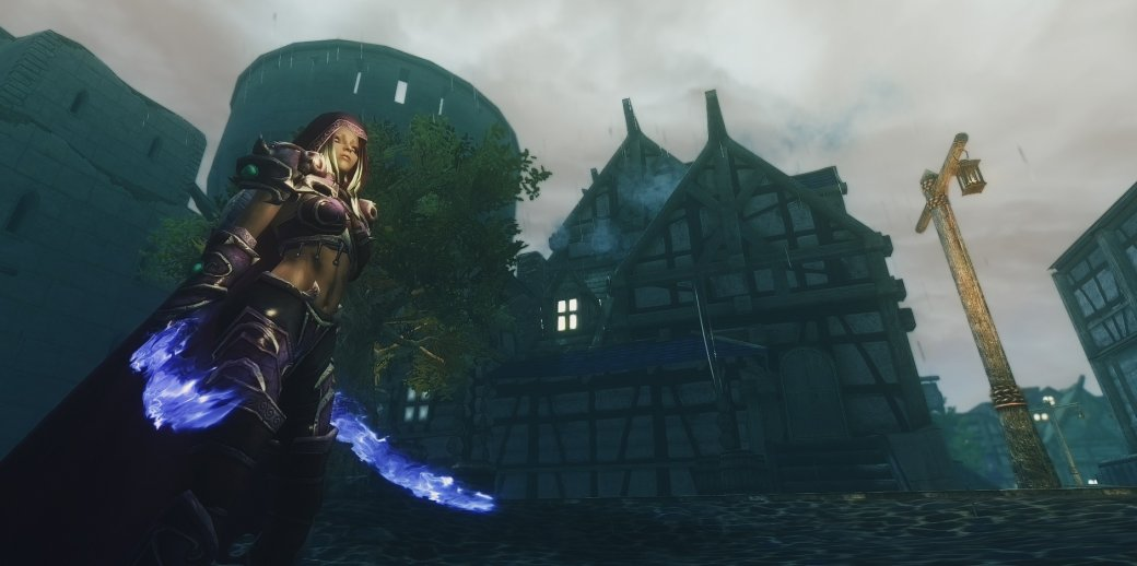 Кроссовер, который мы заслужили: энтузиасты добавили локации из World of Warcraft в Skyrim!  | Канобу - Изображение 4