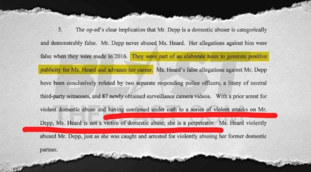 Новые доказательства говорят отом, что это Эмбер Херд калечила Джонни Деппа, аненаоборот | Канобу - Изображение 6255