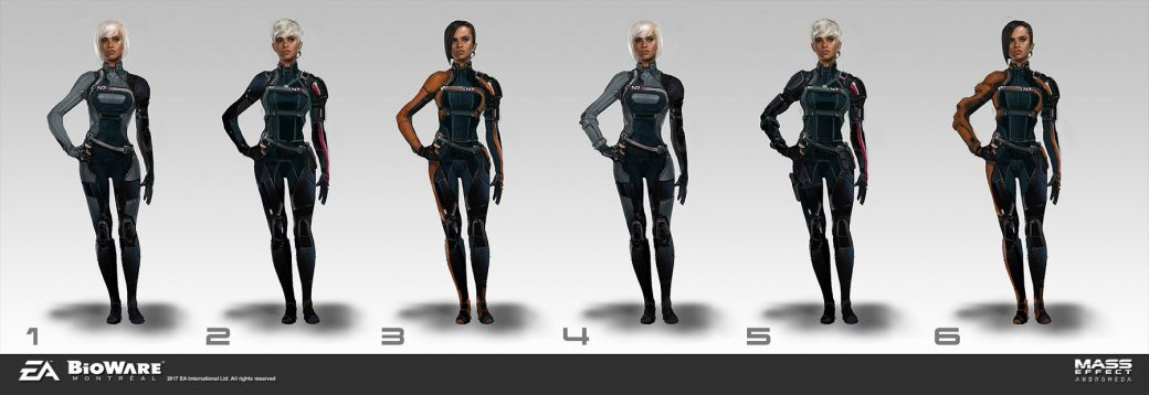 Художники BioWare показали ранние арты Mass Effect: Andromeda. - Изображение 2