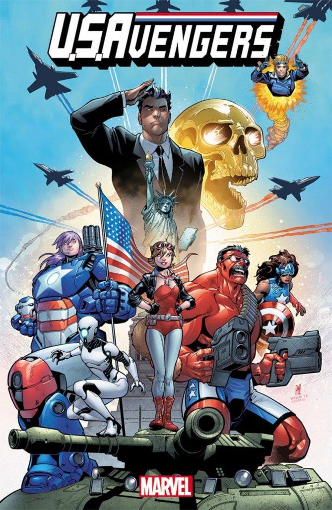 В комиксе U.S.Avengers представили нового Халка и Железного Человека   Канобу - Изображение 14575