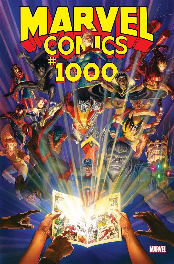 Стало известно, как Marvel отметит свой 80-летний юбилей— спомощью тысячного выпуска Marvel Comics | Канобу - Изображение 2