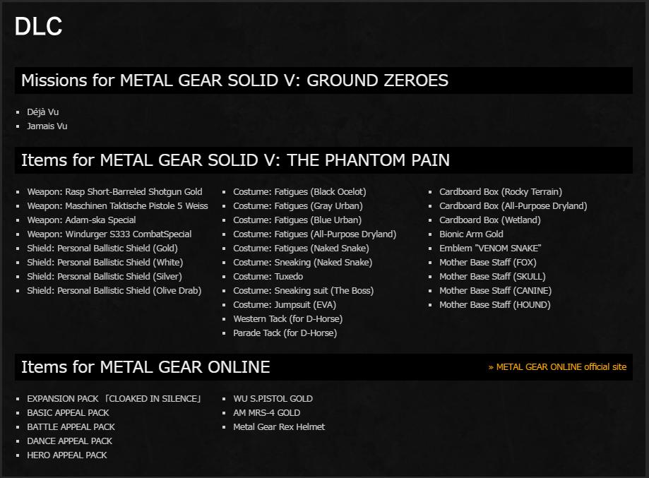 Официально анонсировано полное издание Metal Gear Solid V   Канобу - Изображение 10402
