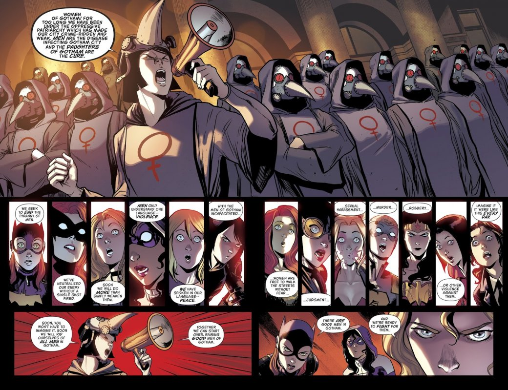 Суперфеминистки против боевых мужененавистниц. Как мужчин Готэма спасали отрадикалок   Канобу - Изображение 7788