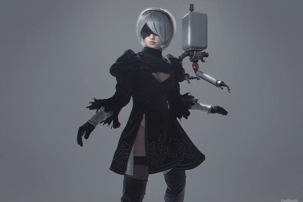 Косплей дня: девушка-андроид 2B изNieR: Automata | Канобу - Изображение 6