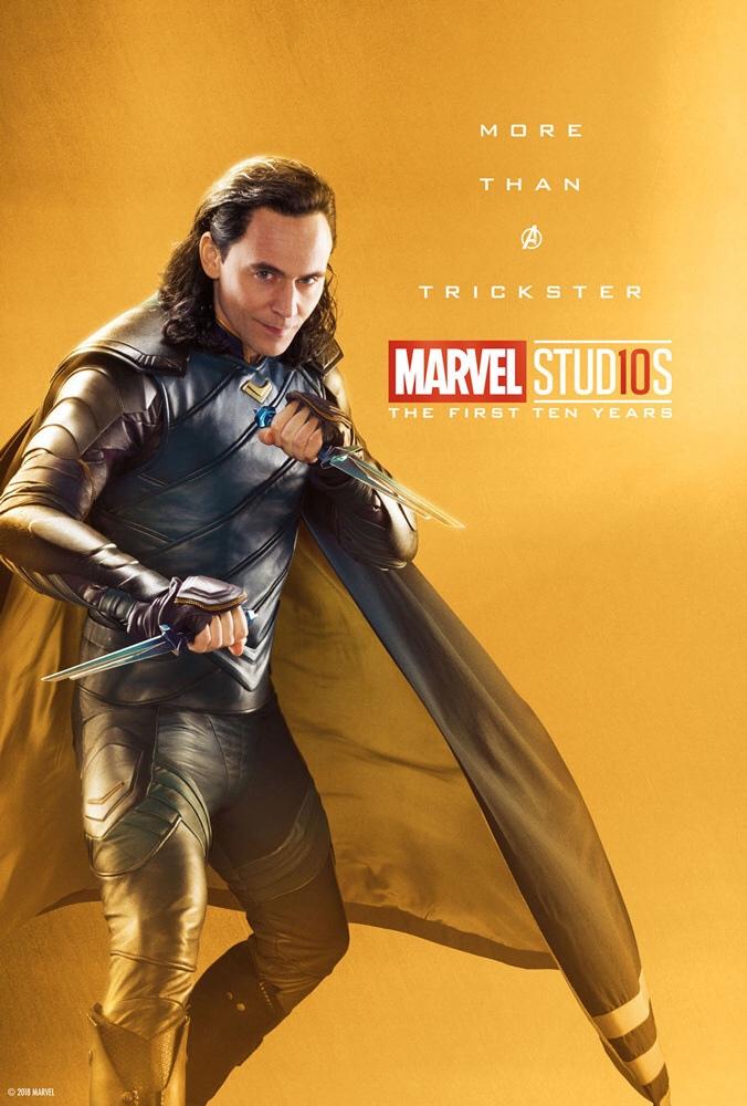 «Больше, чем легендарный преступник». ВСети появились новые юбилейные постеры Marvel Studios | Канобу - Изображение 18