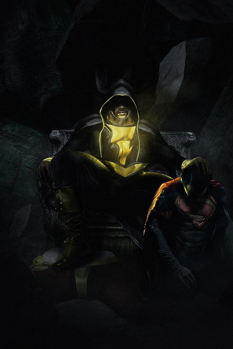 Дуэйн «Скала» Джонсон намекнул на встречу Черного Адама с Суперменом | Канобу - Изображение 12447