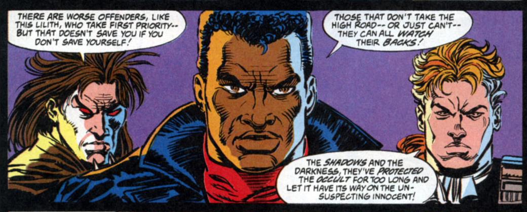 Кто такой Блэйд? Отохотника навампиров дочлена Мстителей исоюзника Людей Икс | Канобу - Изображение 139