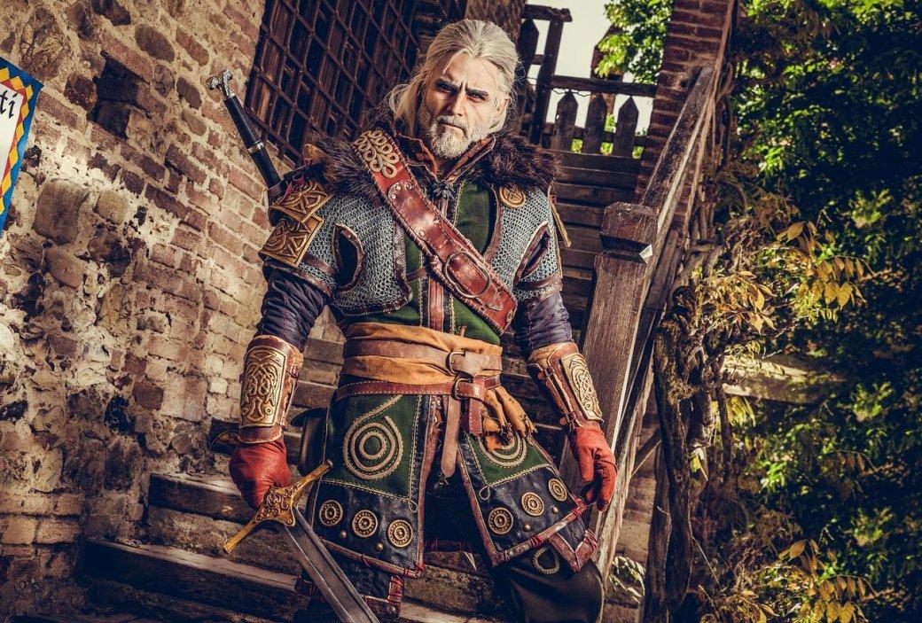 Косплеер Геральта из Ривии показал сделанную им лично броню из Ундвика | Канобу - Изображение 1133