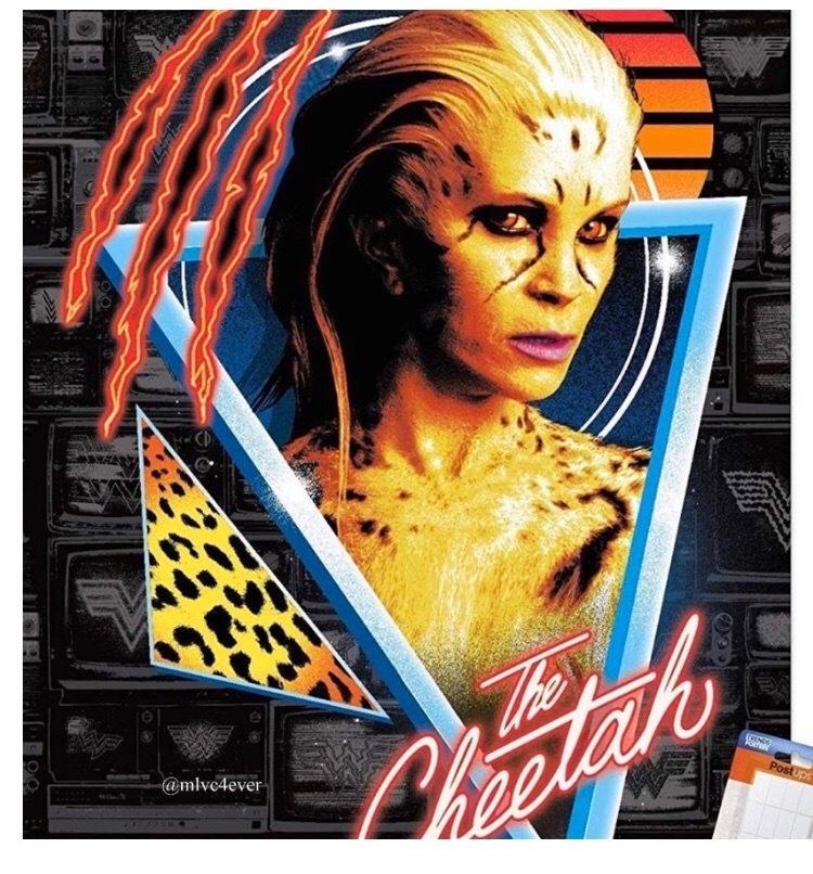 Всеть утек постер сГепардой из«Чудо-женщины: 1984». Это точно несиквел «Кошек»? | Канобу - Изображение 873