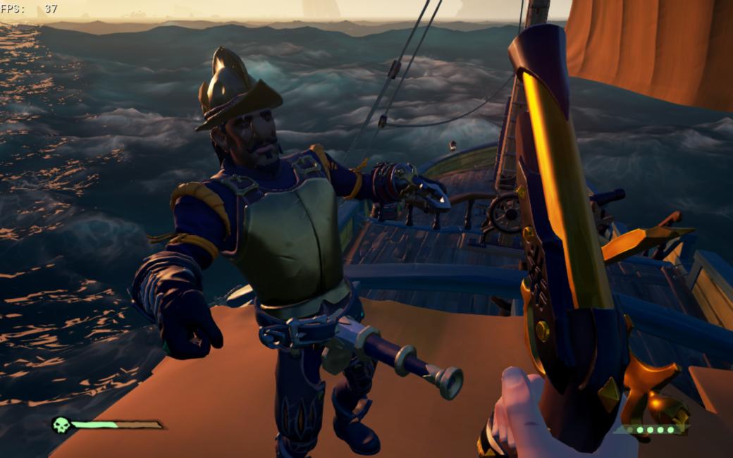 «Не тыкайте в меня своей подзорной трубой!» — из Sea of Thieves удалили забавный баг | Канобу - Изображение 4208
