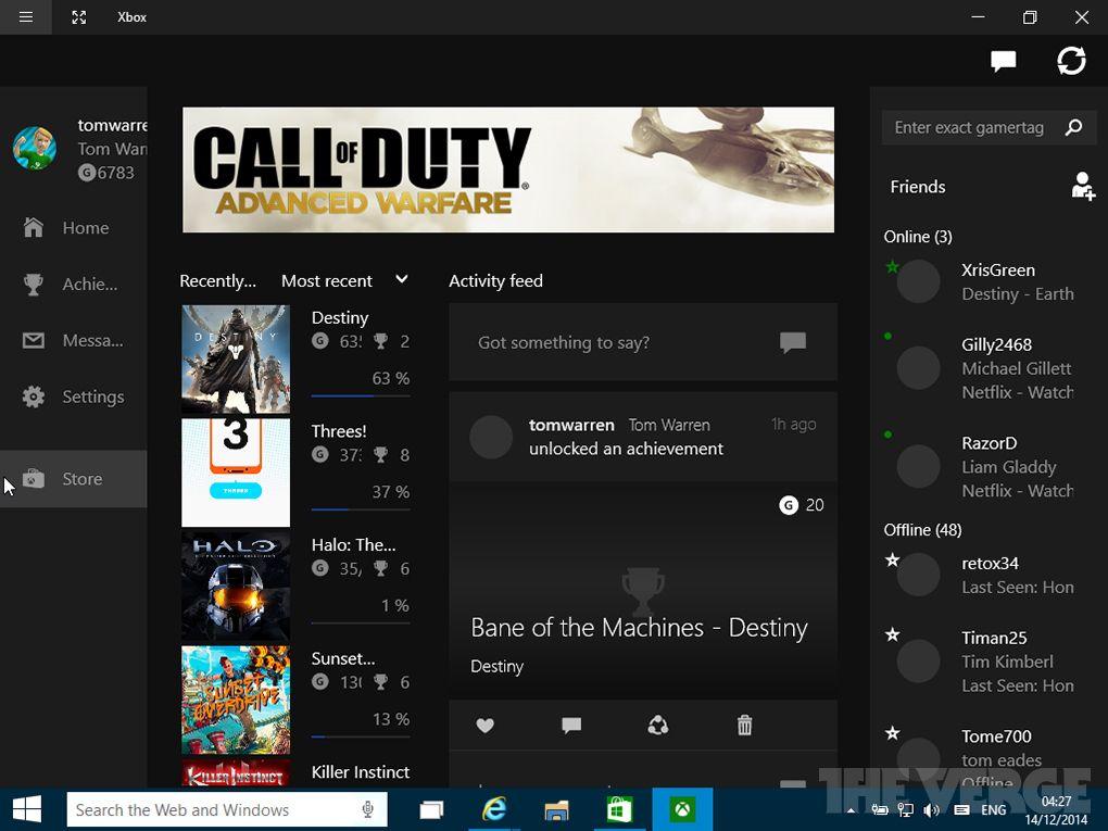 скачать приложение xbox для windows 10 скачать