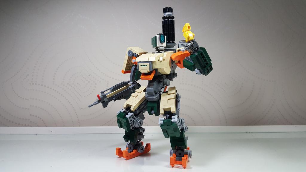 LEGO сделает наборы с персонажами из Overwatch. - Изображение 1
