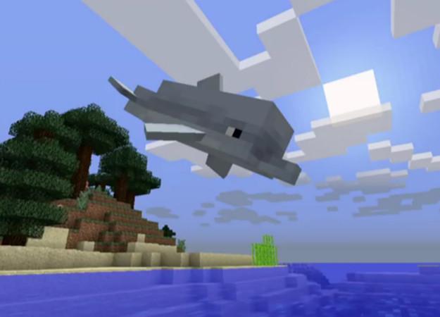В Minecraft появятся дельфины благодаря большому обновлению Aquantic. - Изображение 1