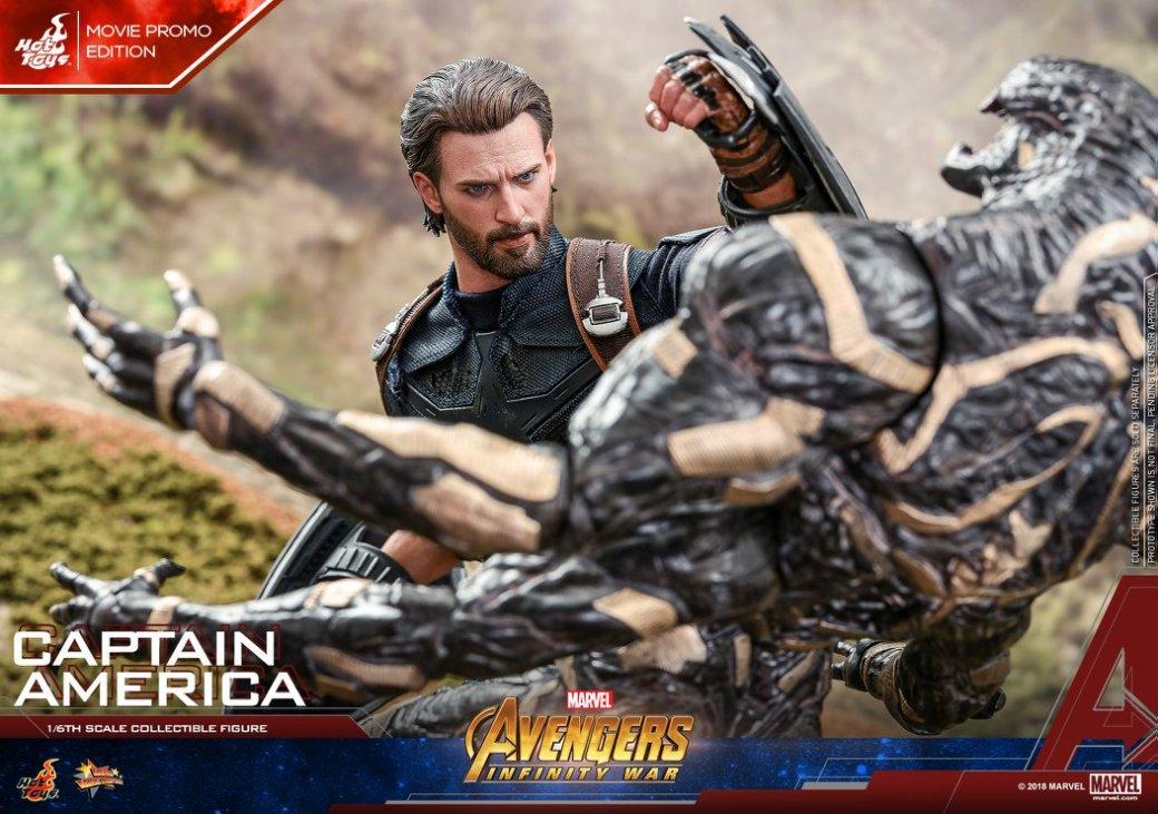 Взгляните нановую фигурку Капитана Америка из«Войны Бесконечности» отHot Toys. - Изображение 11