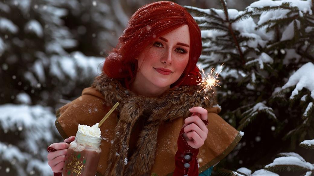 Ламповый рождественский косплей по «Ведьмаку» с Йеннифэр, Трисс и Цири | Канобу - Изображение 689