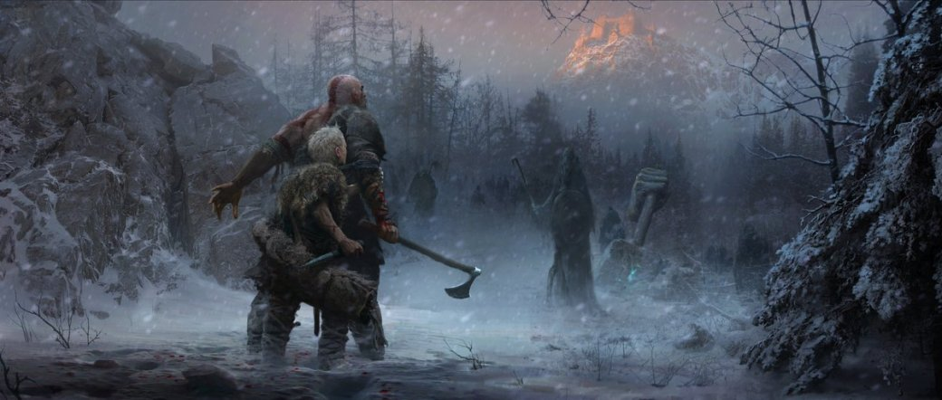 Sony наградила догадливых игроков новыми концепт-артами God ofWar. - Изображение 3